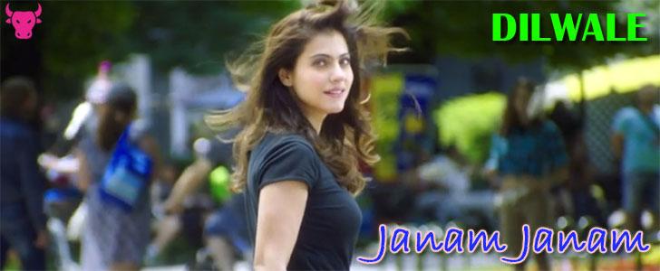 Janam Janam lyrics from Dilwale
