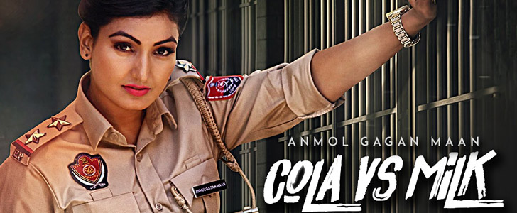 Cola Vs Milk lyrics by Anmol Gagan Maan