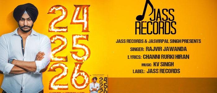 24 25 26 lyrics by Rajvir Jawanda