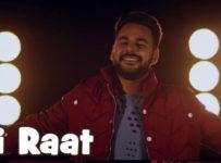 Adhi Raat Lyrics by Gagan Maan