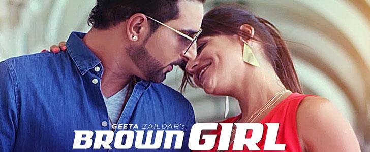 Brown Girl lyrics by Geeta Zaildar