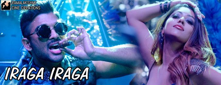 Iraga Iraga lyrics from Naa Peru Surya Naa Illu India