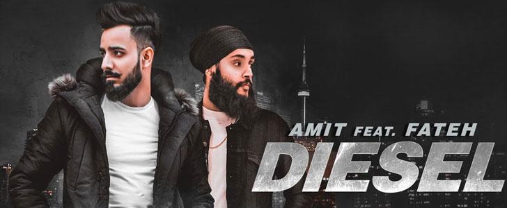 Diesel lyrics by Amit & Fateh Doe