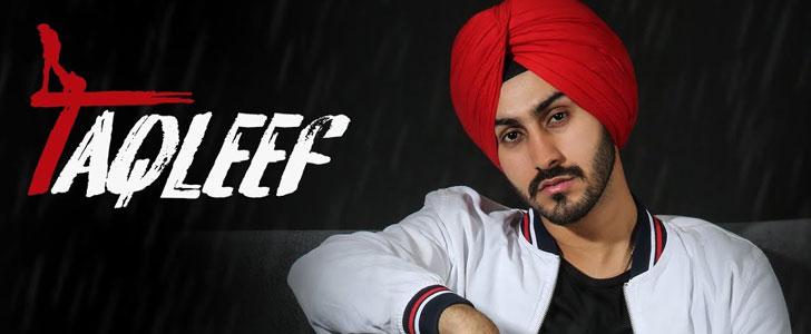 Taqleef lyrics by Rohanpreet Singh
