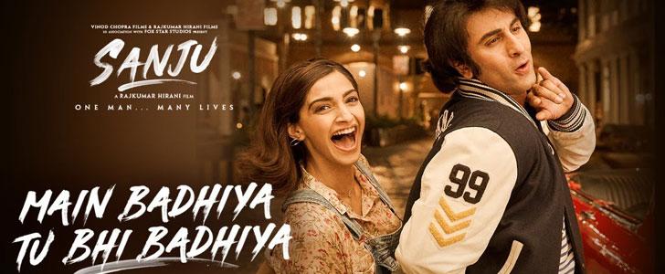 Main Badhiya Tu Bhi Badhiya lyrics from Sanju