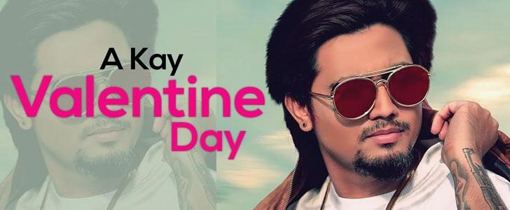 Valentine Day lyrics by A Kay