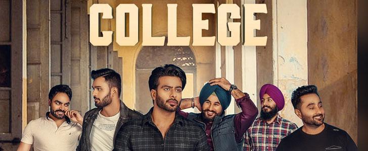 College Lyrics - Mankirt Aulakh