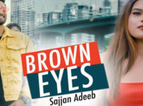 Brown Eyes Lyrics by Sajjan Adeeb