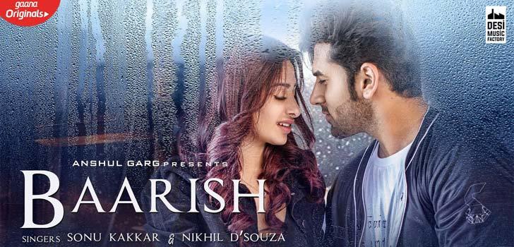 Baarish Lyrics by Sonu Kakkar