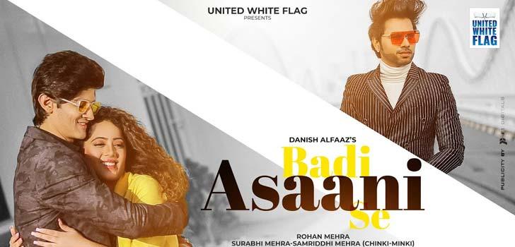 Badi Asaani Se Lyrics by Danish Alfaaz