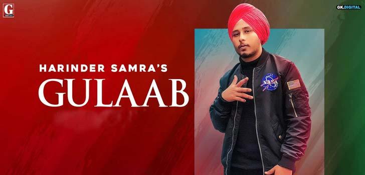Gulab Lyrics by Harinder Samra