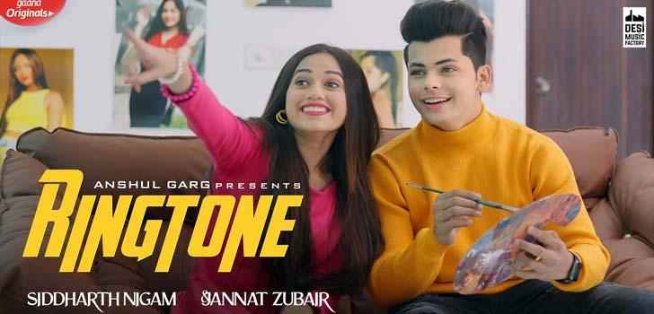Ringtone Lyrics ft Jannat Zubair