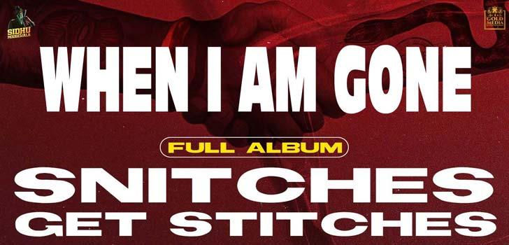 When I Am Gone Lyrics by Sidhu Moose Wala