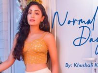 Normal Days Lyrics by Khushali Kumar