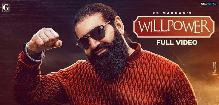 Willpower Lyrics by Ks Makhan