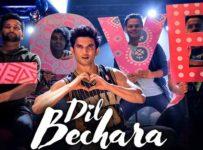 Dil Bechara Lyrics feat Sushant Singh Rajput