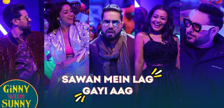 Sawan Mein Lag Gayi Aag Lyrics from Ginny Weds Sunny
