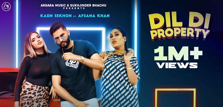 Dil Di Property Lyrics by Karn Sekhon