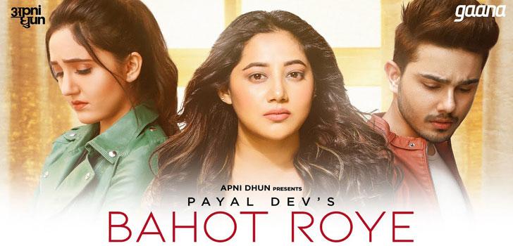 Bahot Roye Lyrics by Payal Dev