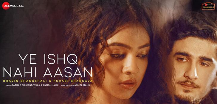 Ye Ishq Nahi Aasan Lyrics by Farhad Bhiwandiwala