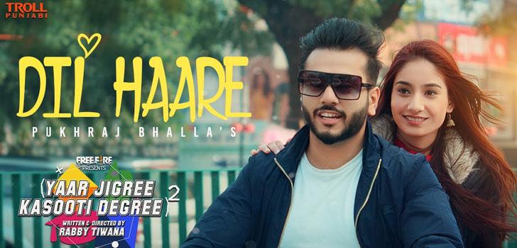 Dil Haare Lyrics by Pukhraj Bhalla