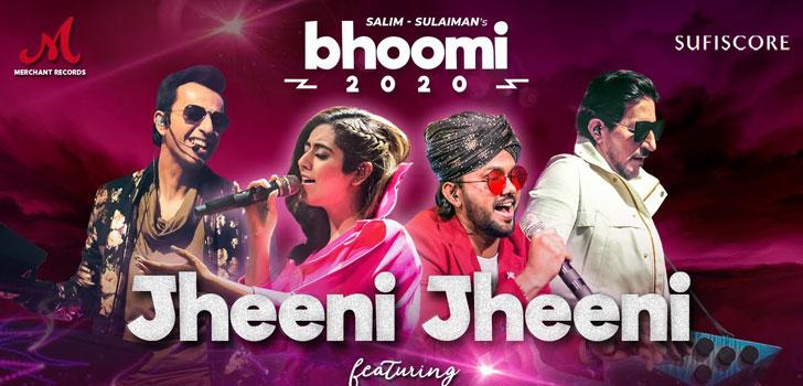 Jheeni Jheeni Lyrics from Bhoomi 2020 by Jonita Gandhi