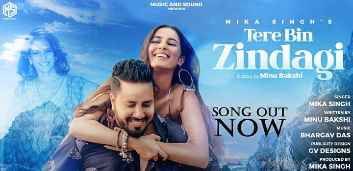 Tere Bin Zindagi Lyrics by Mika Singh