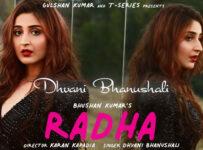 Radha Lyrics by Dhvani Bhanushali