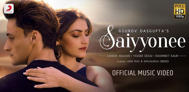Saiyyonee Lyrics by Yasser Desai