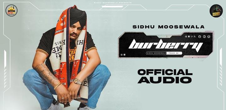 Burberry Lyrics by Sidhu Moose Wala