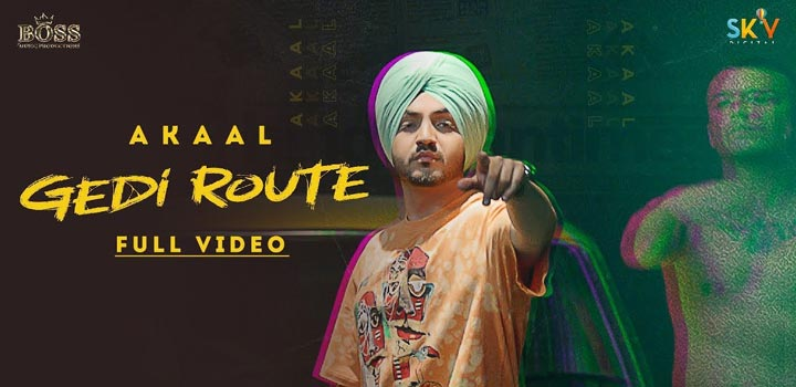 Gedi Route Lyrics by Akaal