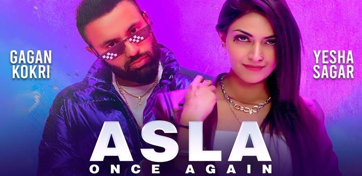 Asla Once Again Lyrics by Gagan Kokri