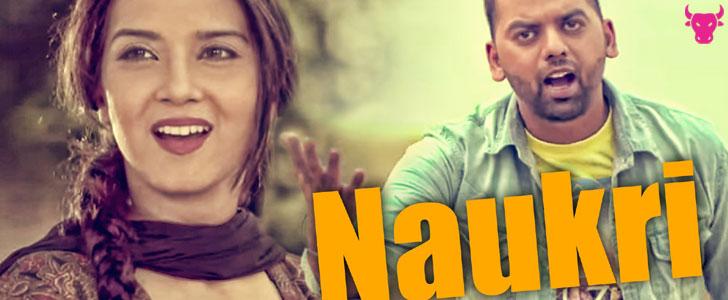 Naukri lyrics by Raj Gill