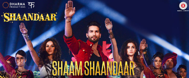 Shaam Shaandaar lyrics from Shaandaar
