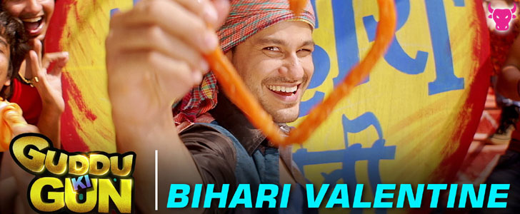 Bihari Valentine lyrics from Guddu Ki Gun