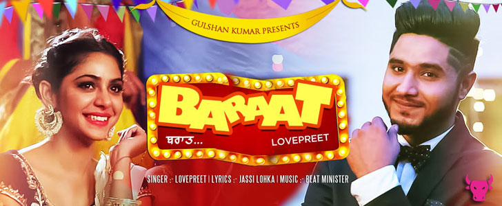 Baraat lyrics by Lovepreet