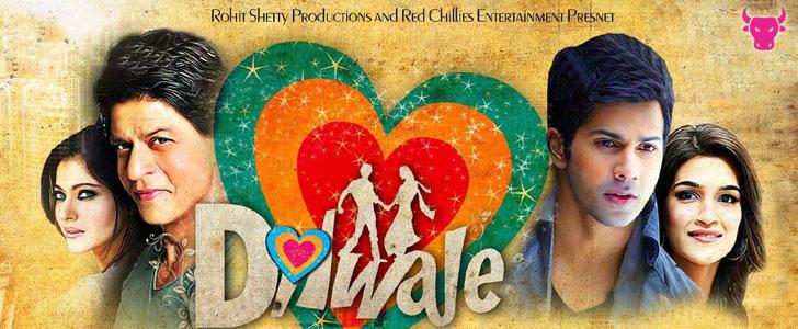 Manma Emotion Jaage lyrics from Dilwale
