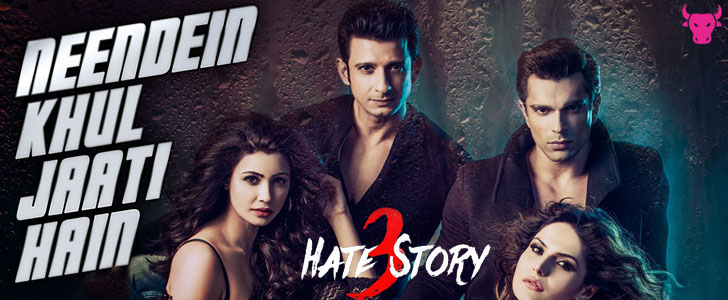 Neendein Khul Jaati Hain lyrics from Hate Story 3