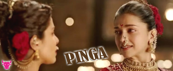 Pinga lyrics from Bajirao Mastani