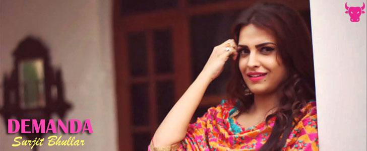 Demanda lyrics by Surjit Bhullar