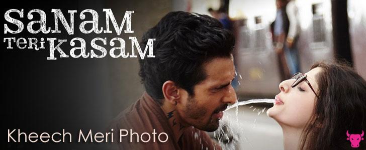 Kheech Meri Photo Lyrics - Sanam Teri Kasam lyrics from Sanam Teri Kasam