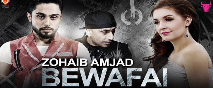 Bewafai lyrics by Zohaib Amjad and Dr Zeus