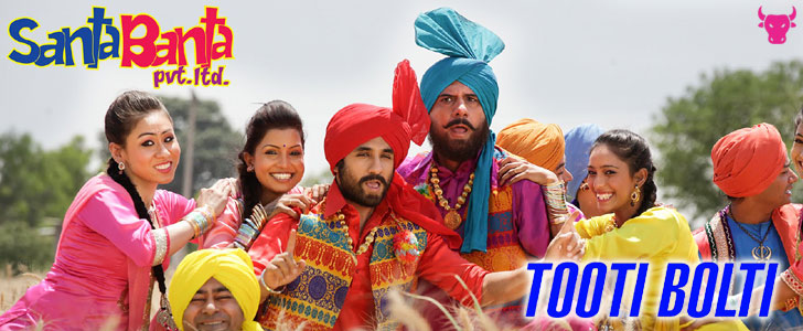 Tooti Bolti lyrics from Santa Banta Pvt Ltd