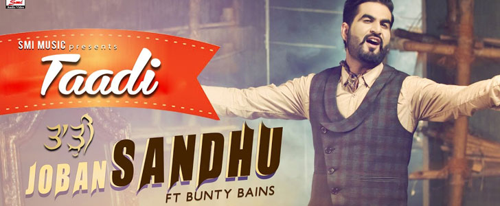 Taadi lyrics by Joban Sandhu