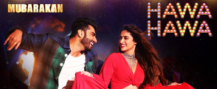 Hawa Hawa lyrics from Mubarakan