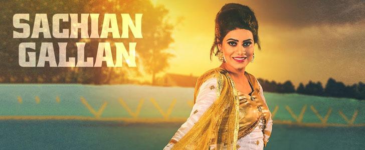 Sachiyan Gallan lyrics by Mannat Noor