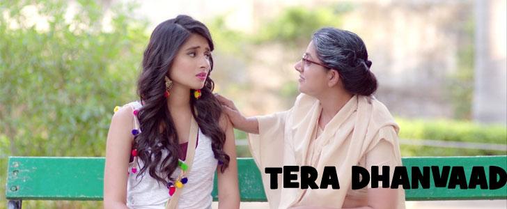 Tera Dhanvaad Lyrics - Romeo