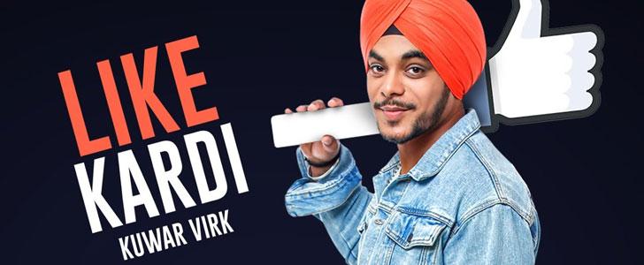 Like Kardi lyrics by Kuwar Virk