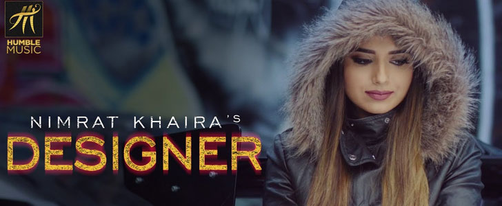 Designer lyrics by Nimrat Khaira