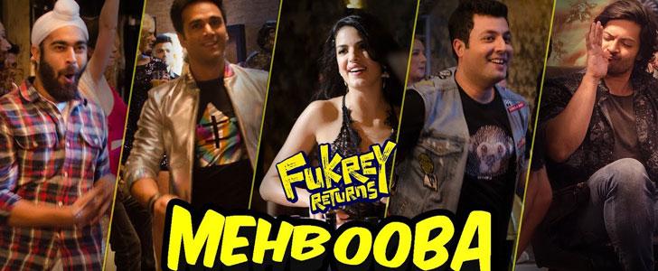 Mehbooba lyrics from Fukrey Returns